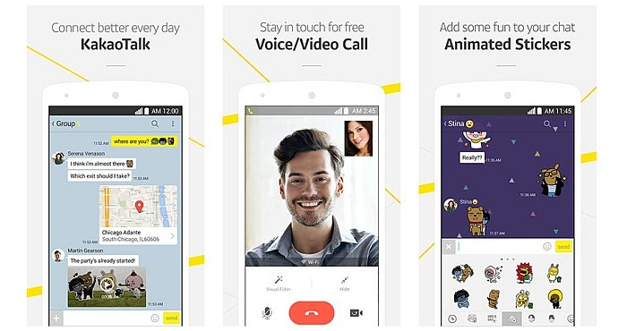 Features of Kakao Talk App