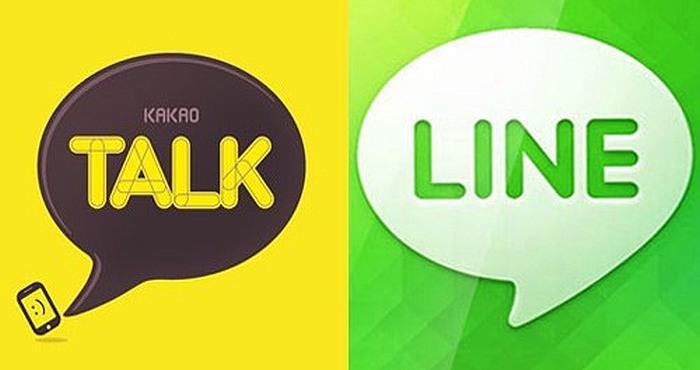 Line Messenger vs Kakao Talk App